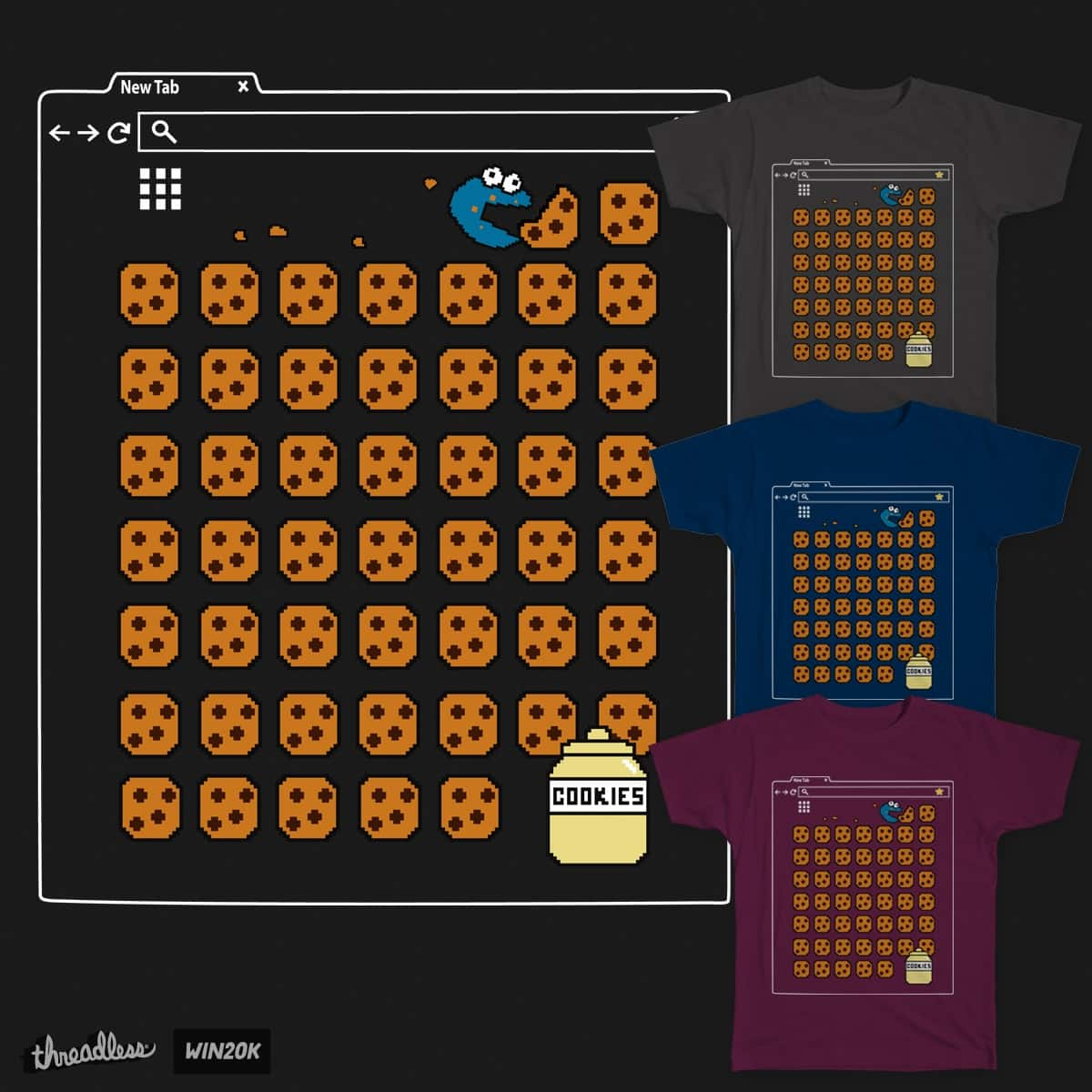 Clear you cookies by TattoonDesigns on Threadless