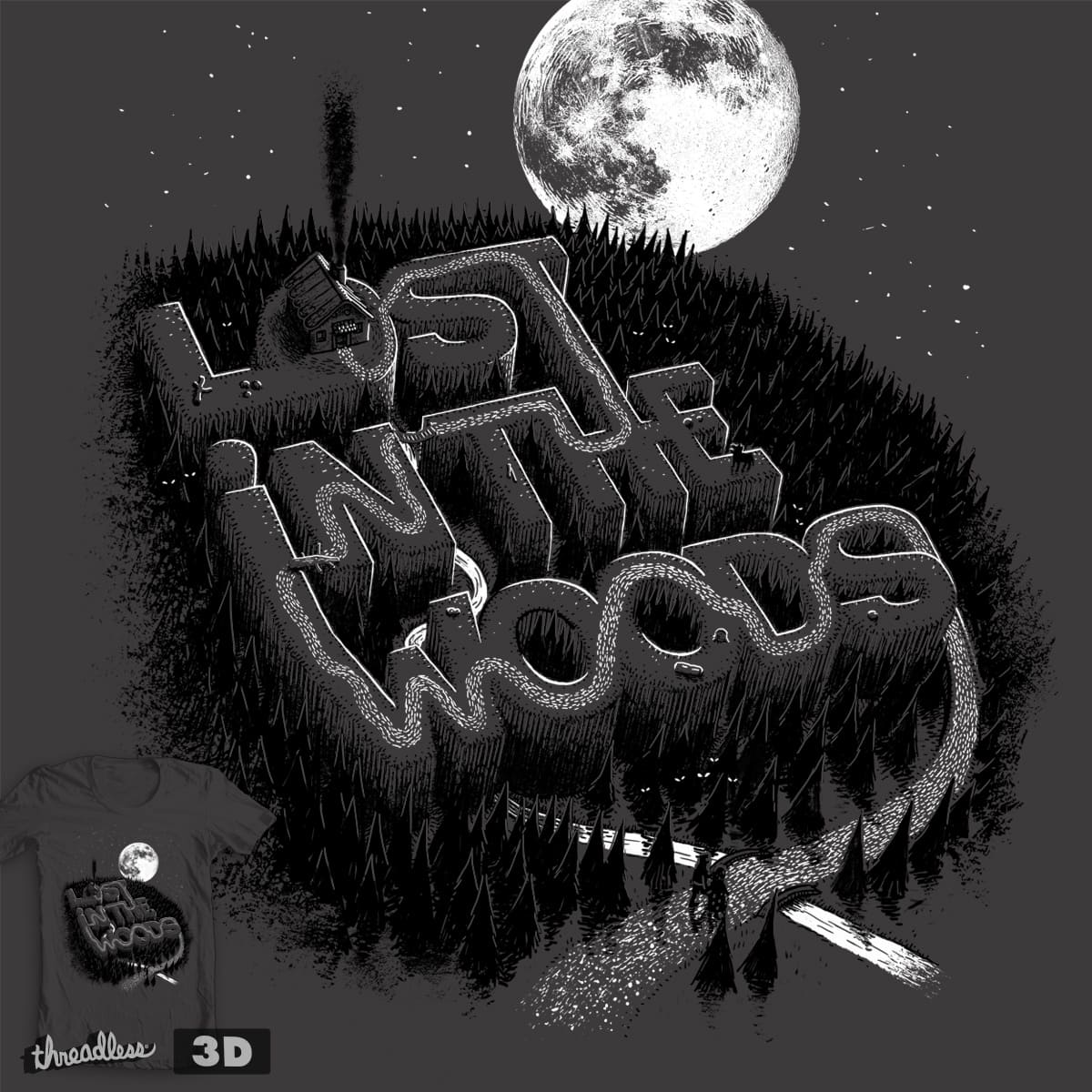 Lost in the woods by c-royal on Threadless