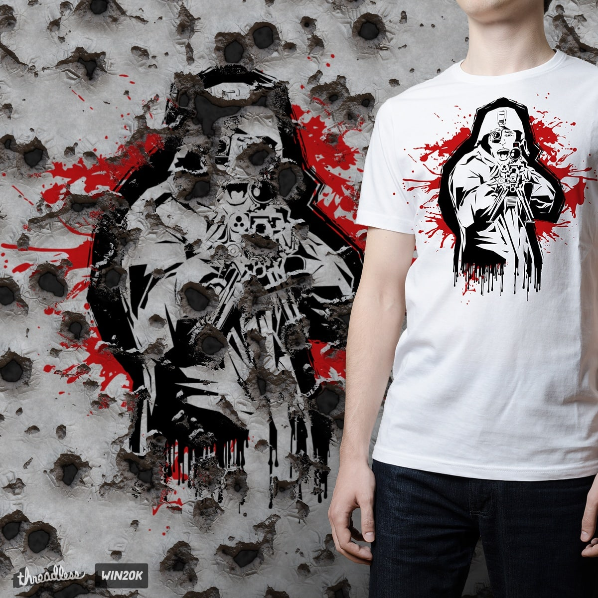 Blood For Oil by Renwerx on Threadless