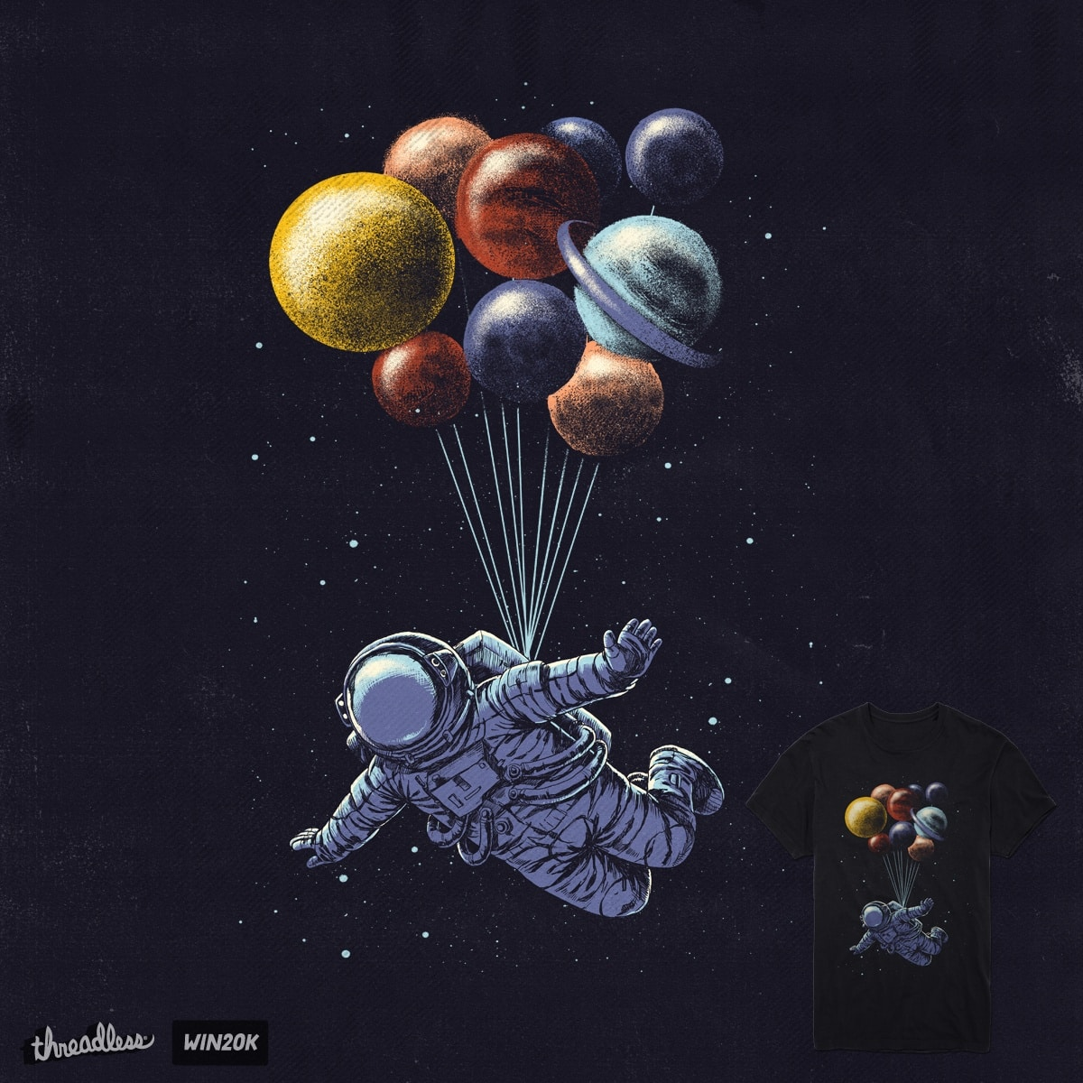 Space travel by digitalcarbine on Threadless