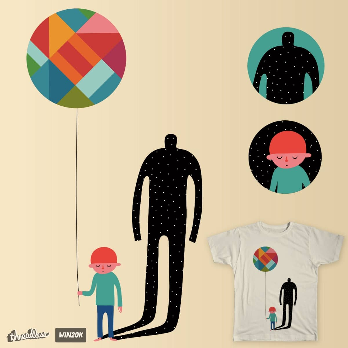 GROW UP by AndyWestface on Threadless