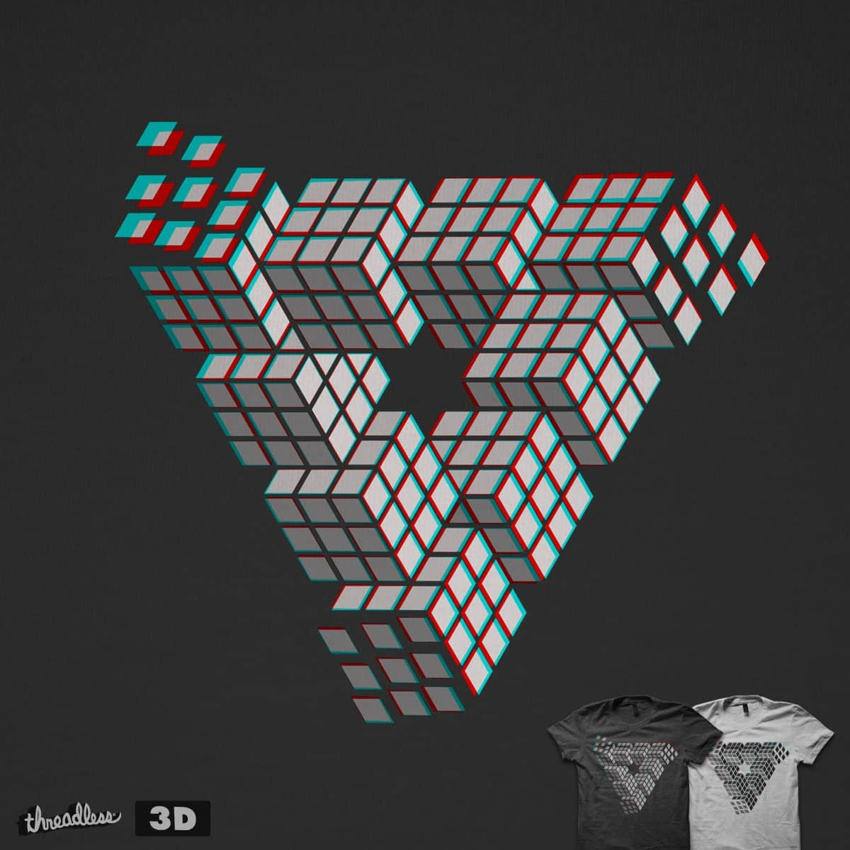 I'M PUZZL3D by quick-brown-fox on Threadless