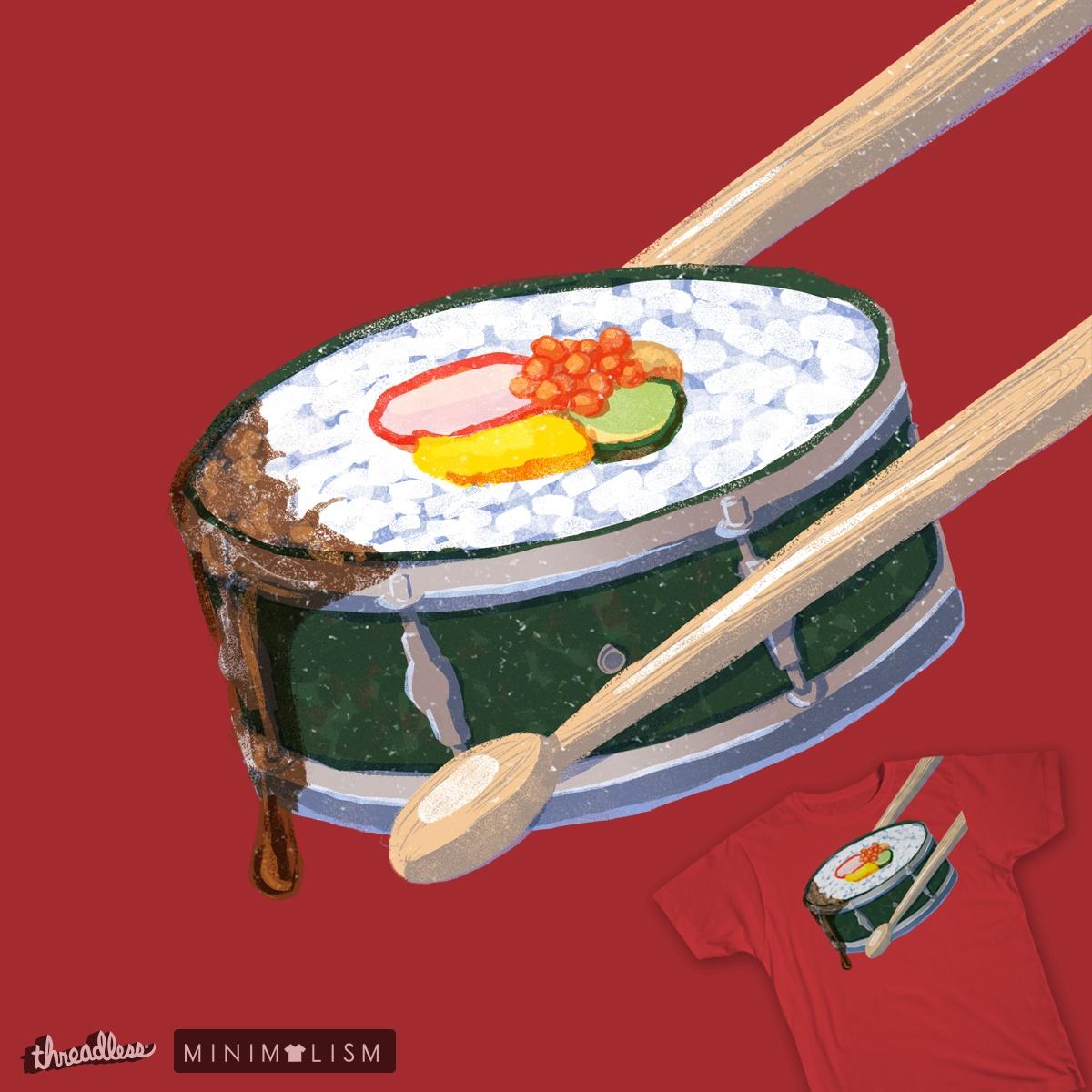 Drumming Japanese by danielansel on Threadless
