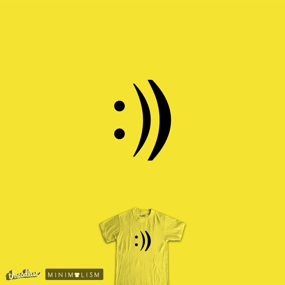 repeat the happiness by jerbing33 on Threadless