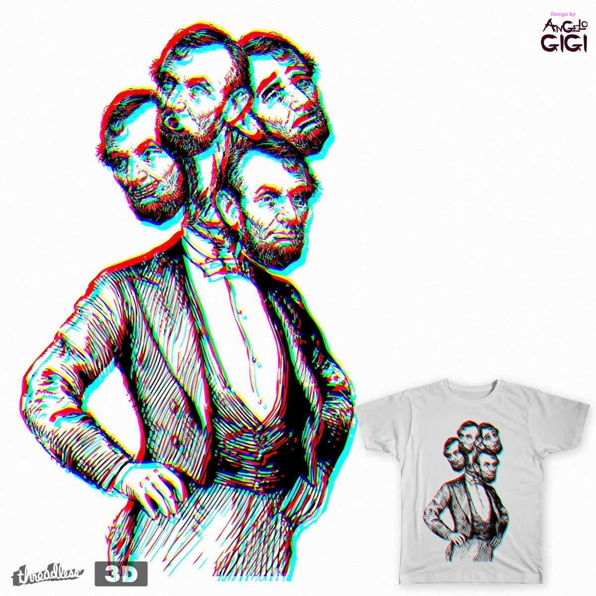 ABE by Angelo-Gomez on Threadless