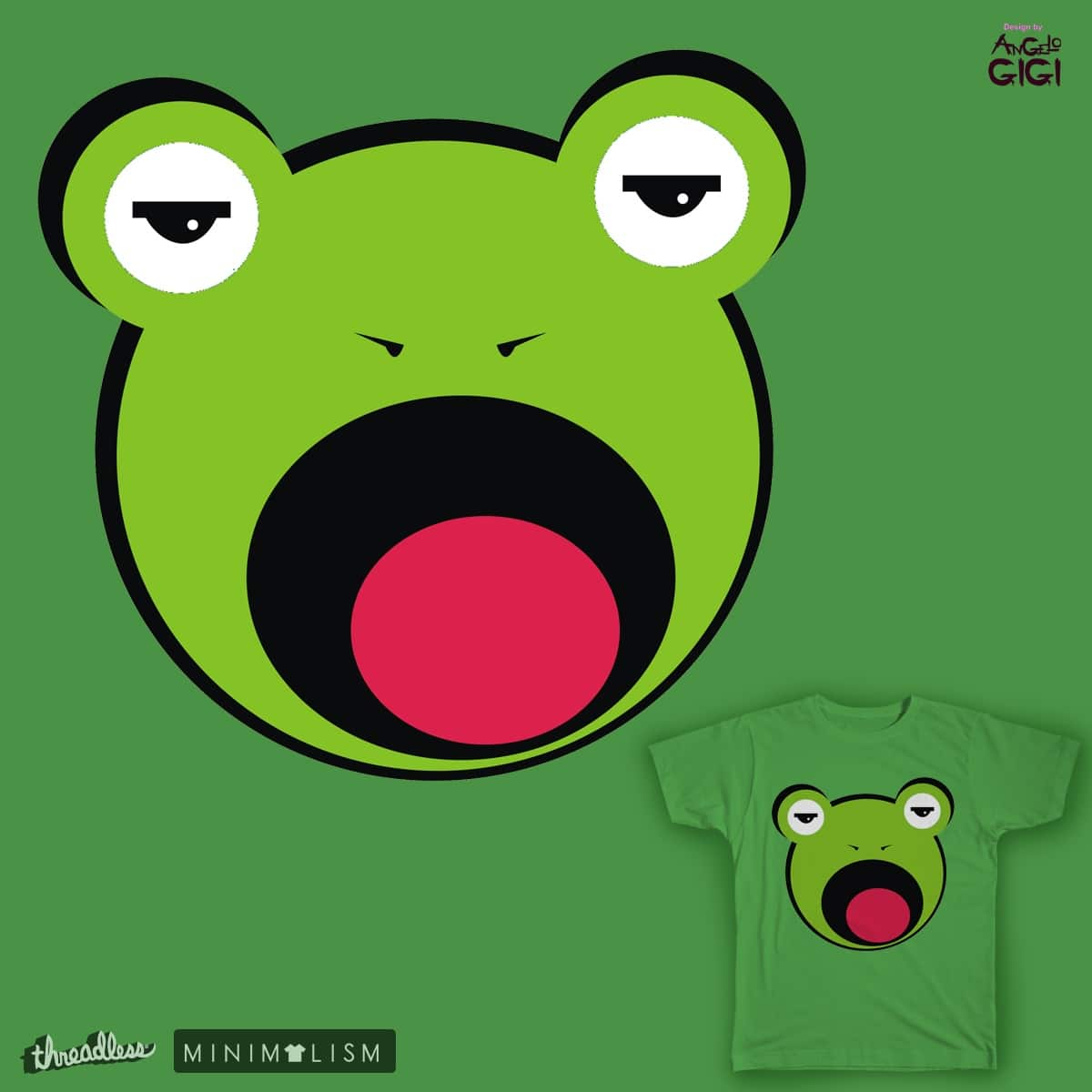 Frog by Angelo-Gomez on Threadless