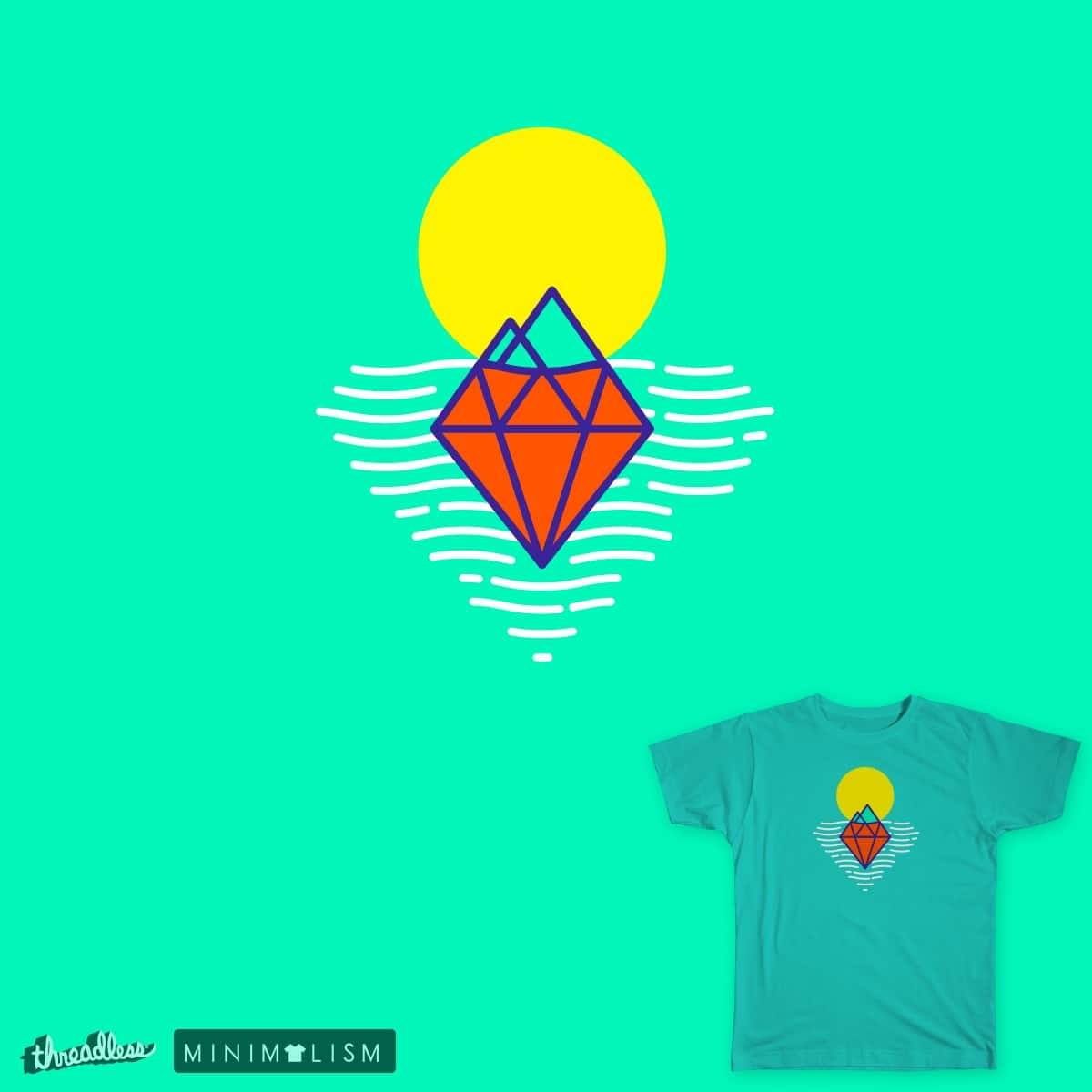 Below the surface by ilialarionov on Threadless