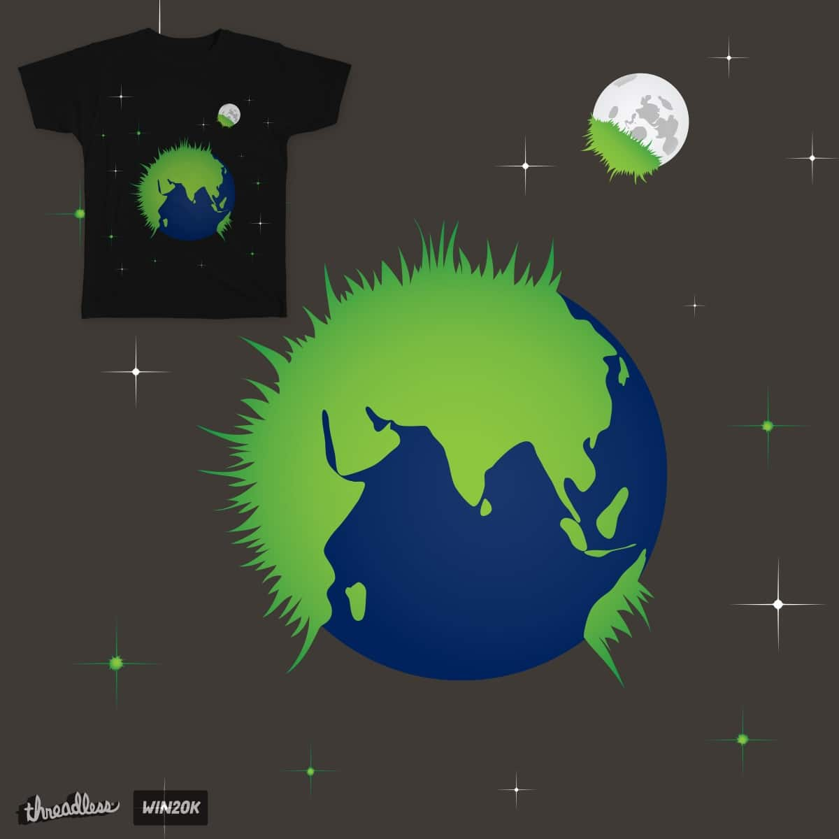 Going Green is Contagious by elysian_visions on Threadless