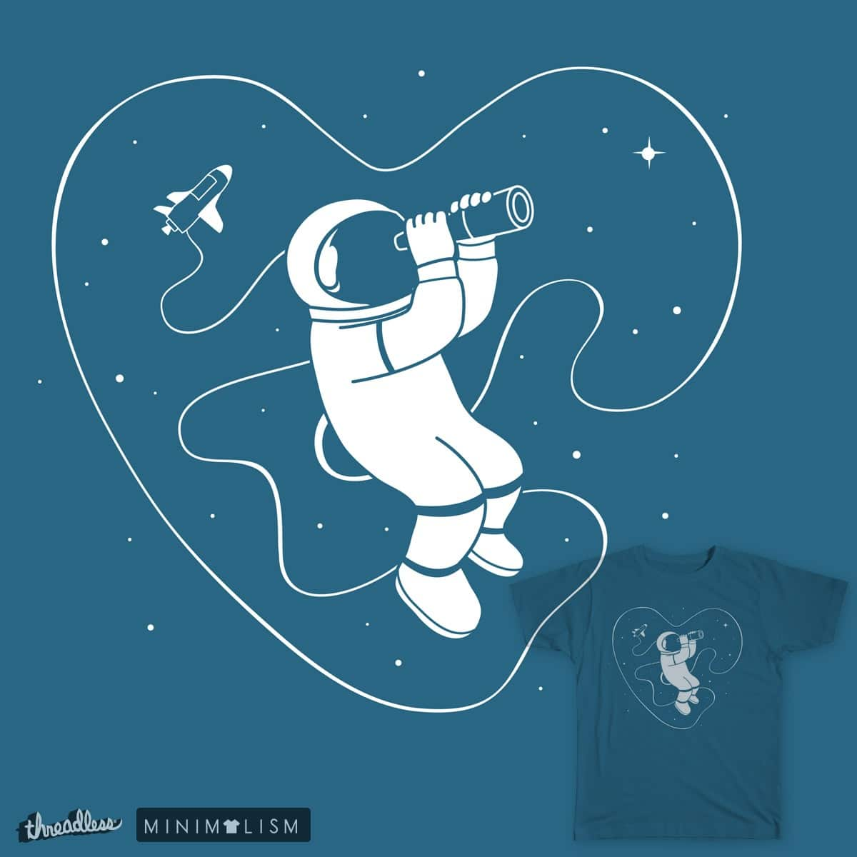 Search the Deepest Space within  by monkeypim on Threadless