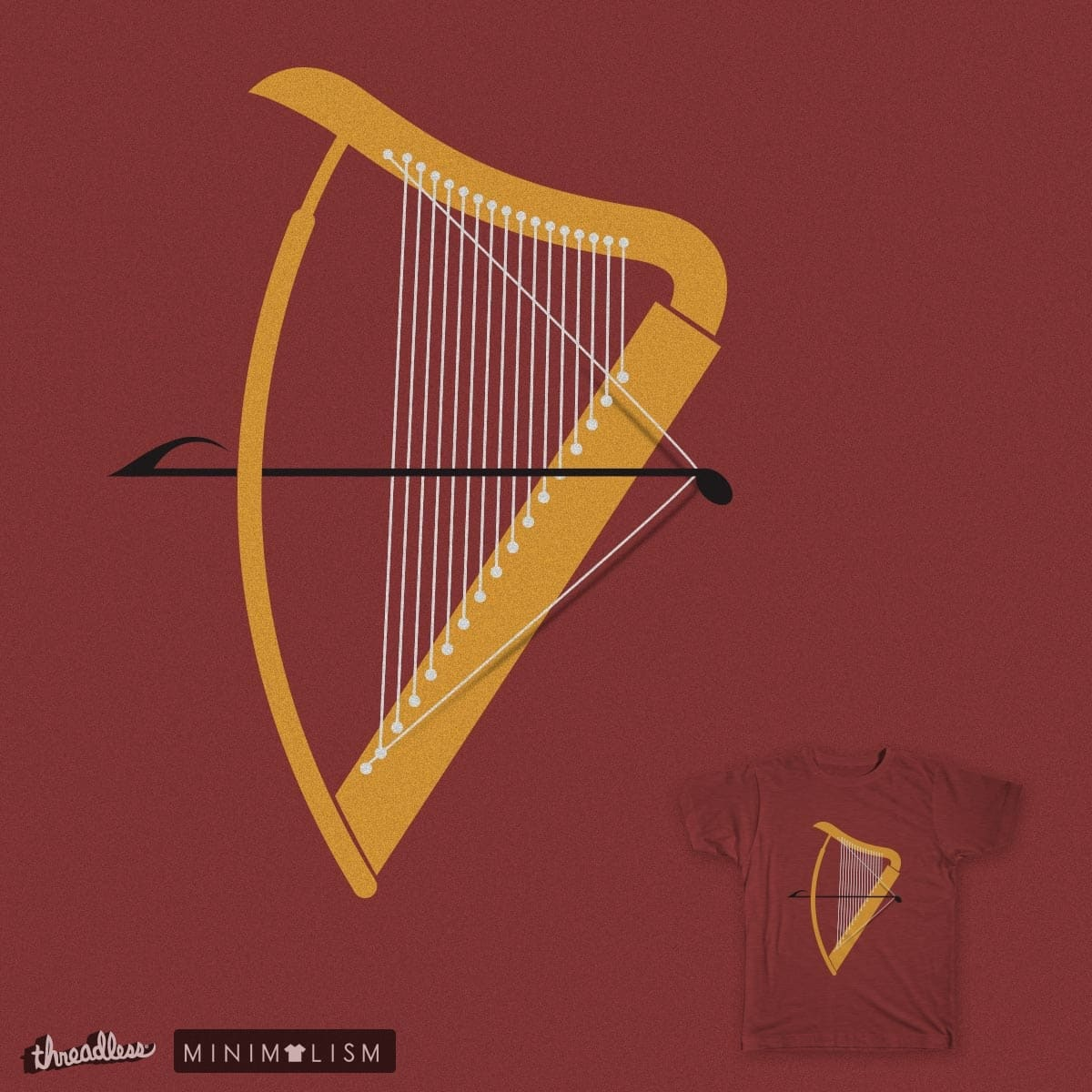Score Harp And Arrow By Fdegrossi On Threadless