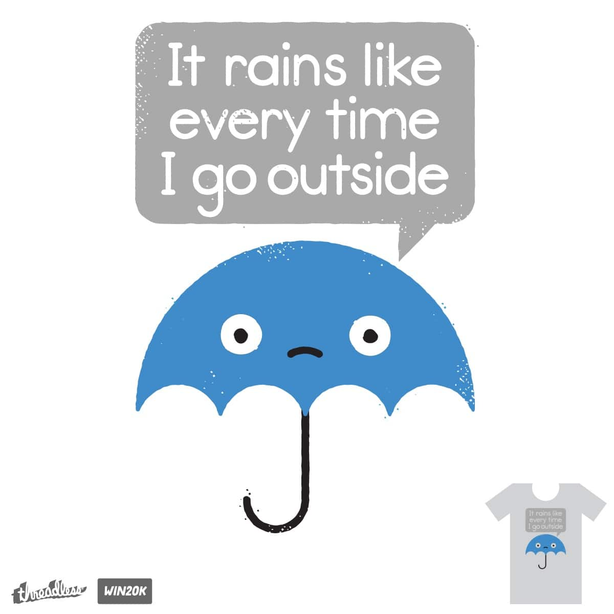 Umbrellativity by DRO72 on Threadless