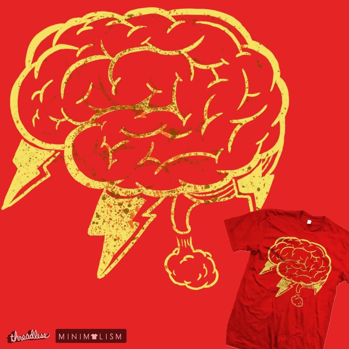 Brain Fart by Noamos on Threadless