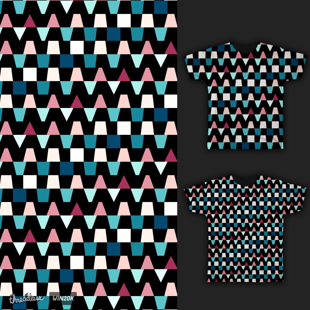 Animated Pattern Color.B by JavierVerdugo on Threadless