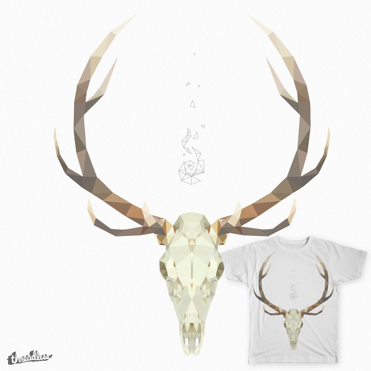 White Stag by kosticns on Threadless