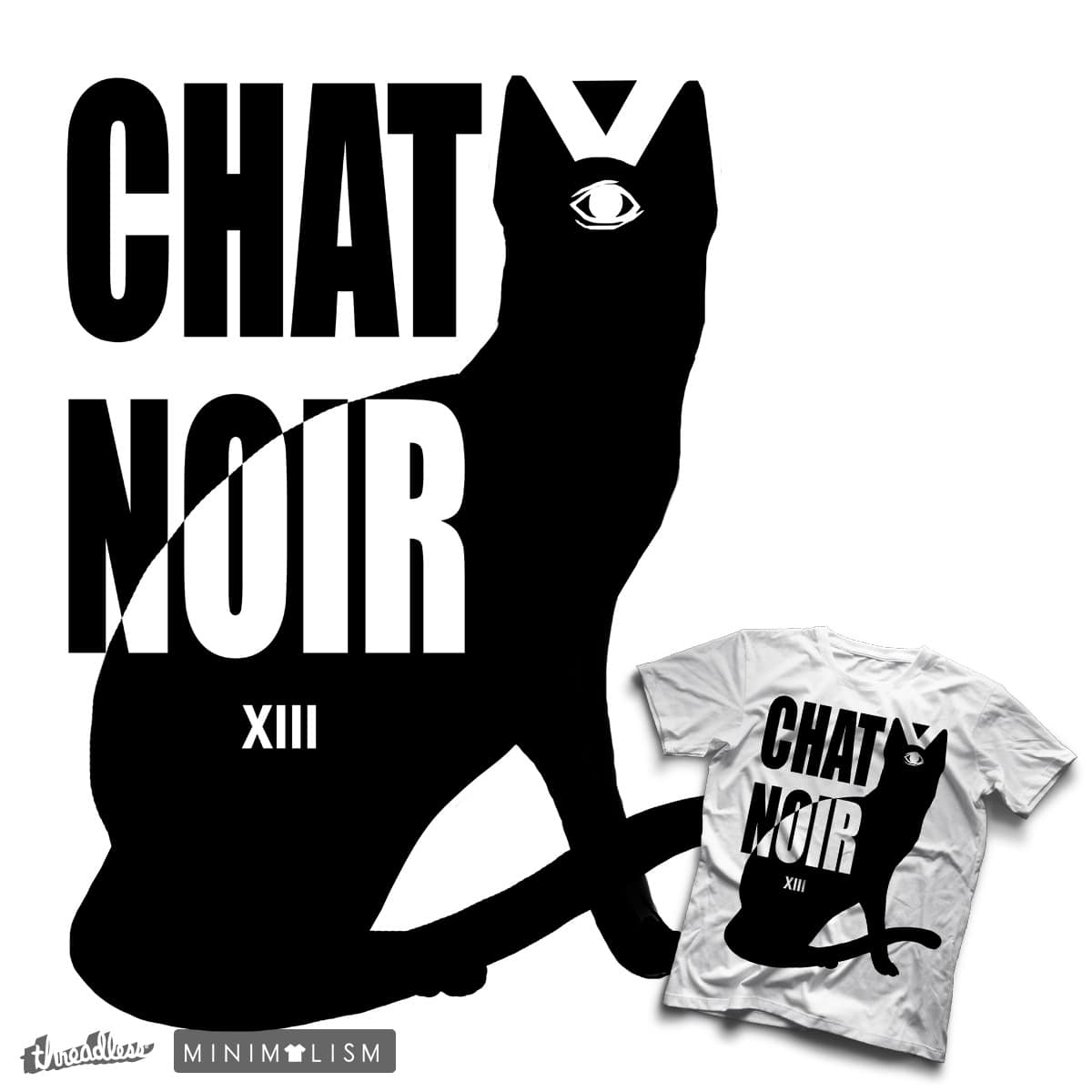 Chat Noir by Bburkhart on Threadless