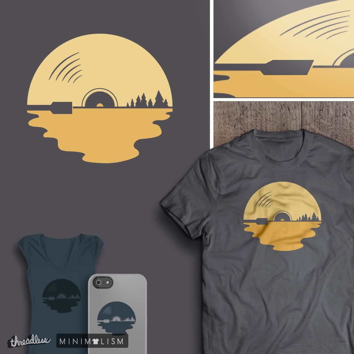 BEYOND THE SUNSET by teedotdraws on Threadless