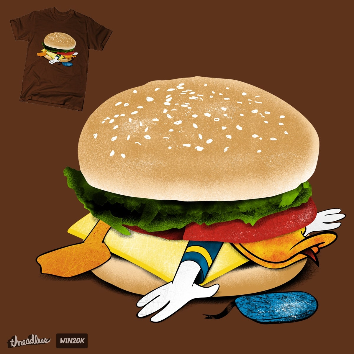 McDonald (MAKE DONALD) by mainial on Threadless