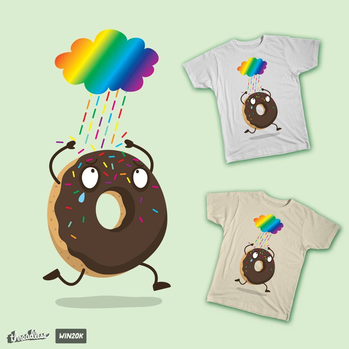 Color Sugar Rain  by hookeeak on Threadless