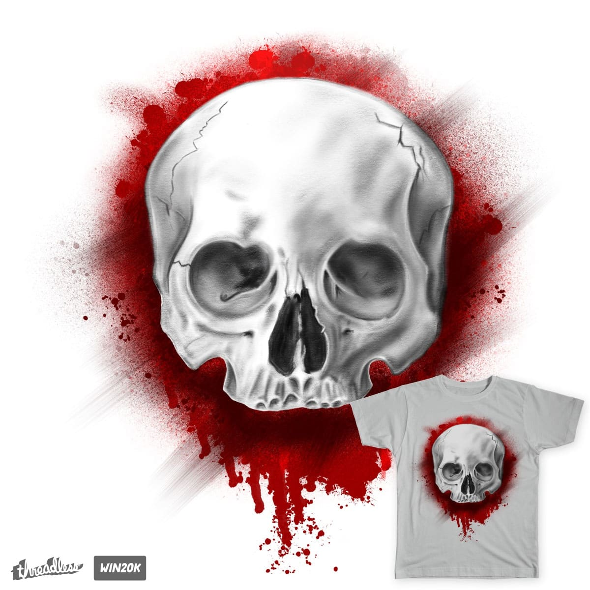 skull&blood by isemonenko on Threadless