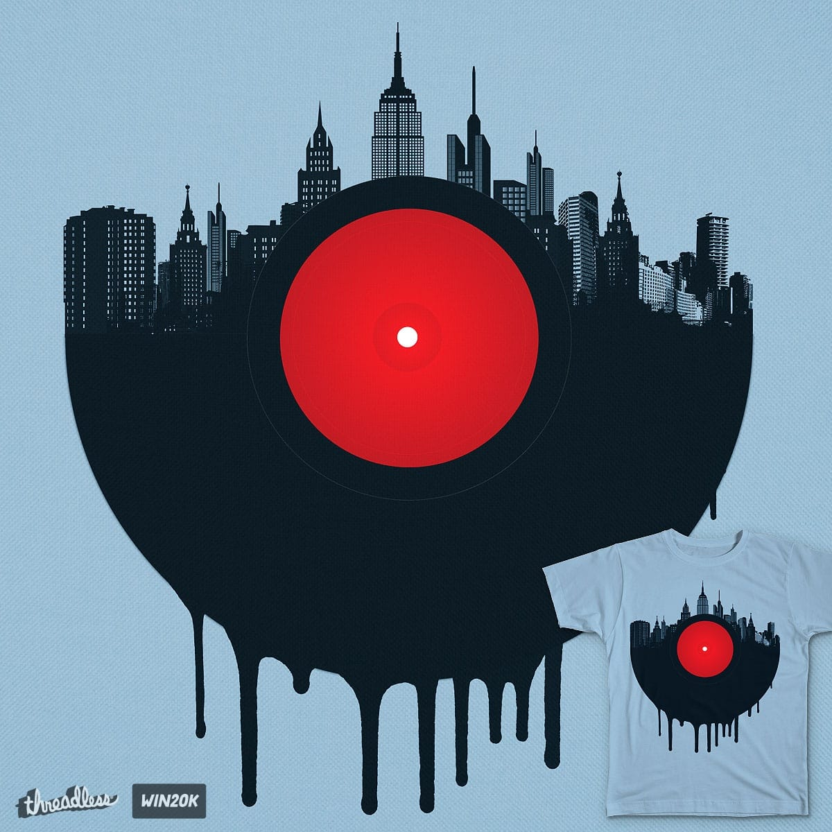Vinyl City by Agimat ni Ingkong on Threadless