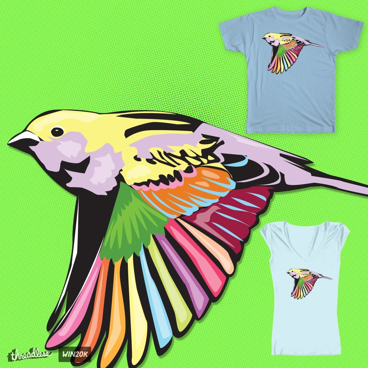 Sparrot by Skyjack23 on Threadless