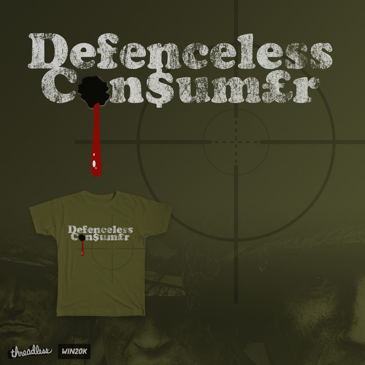 Defenceless Consumer by TMwG on Threadless