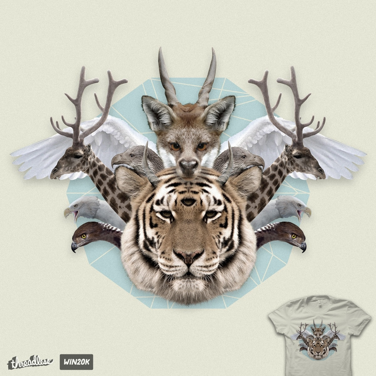 Cryptozoology by quick-brown-fox on Threadless