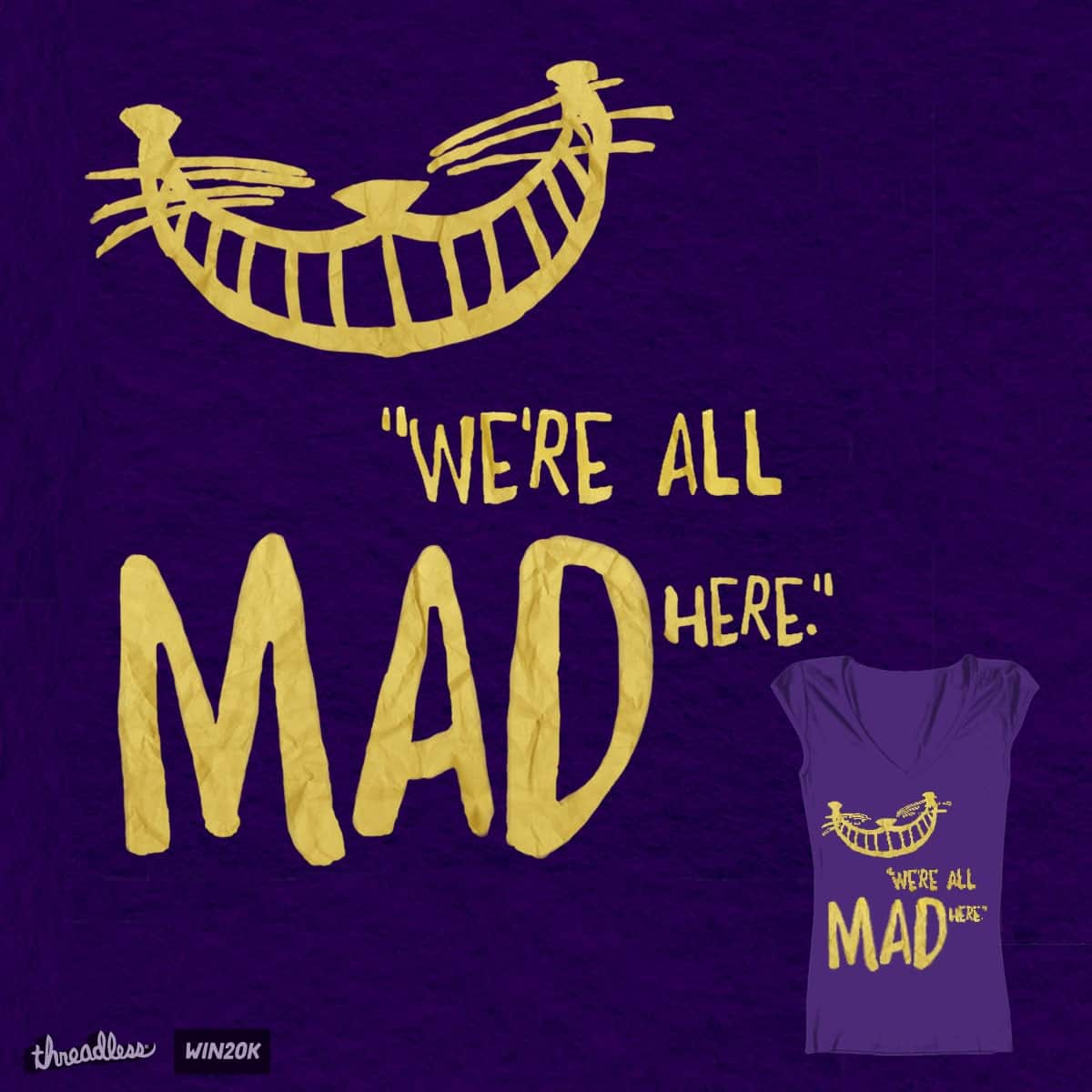 Madness by Britisaur on Threadless
