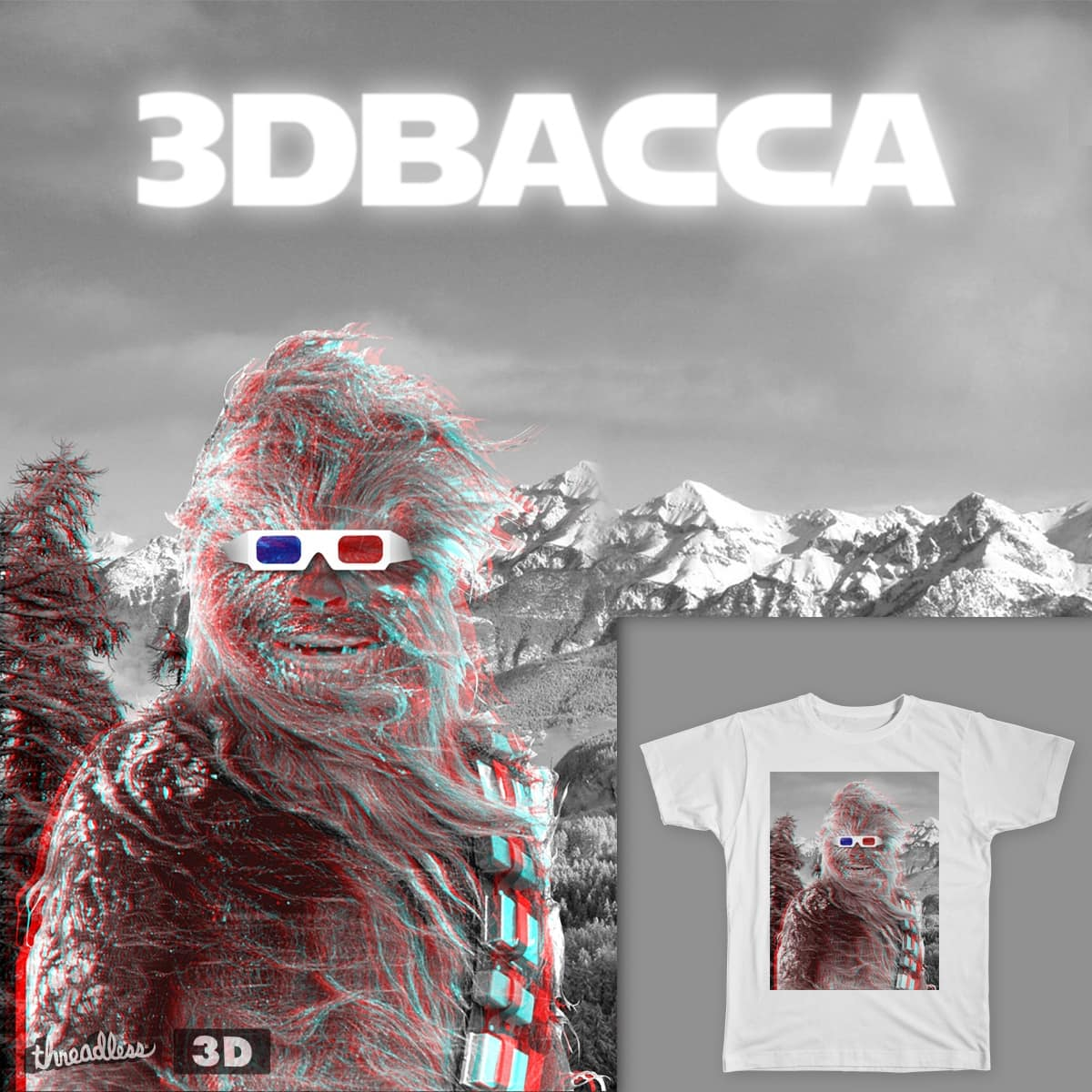 3DBACCA by ArmandoX30 on Threadless