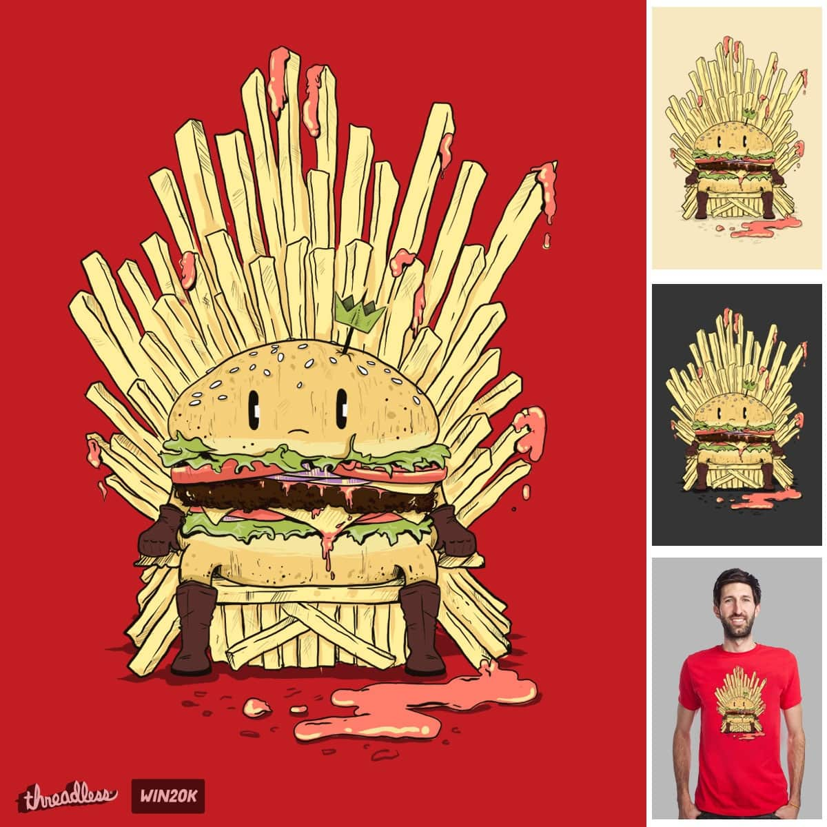 BURGER KING by osaze on Threadless
