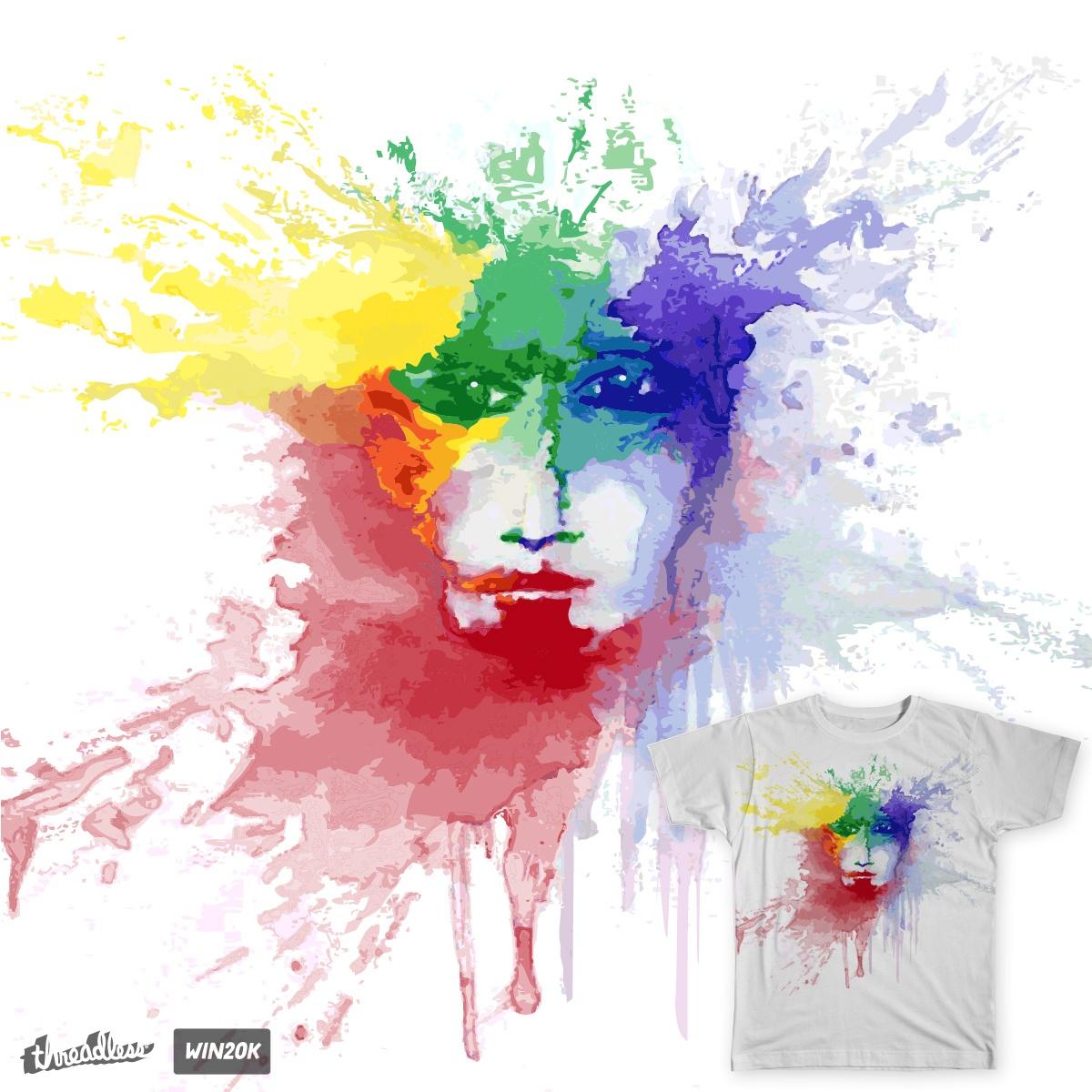 Mr. Technicolor by vylan on Threadless