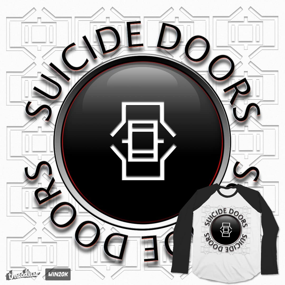 Suicide Doors by JakeDault on Threadless