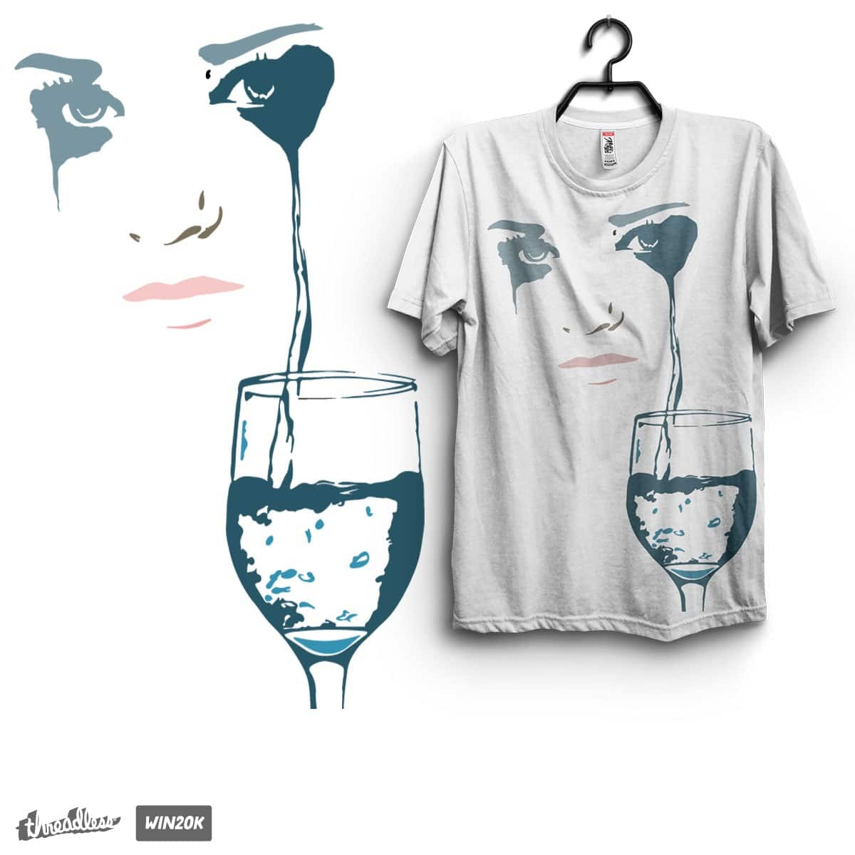 A woman sad by sigoisette on Threadless
