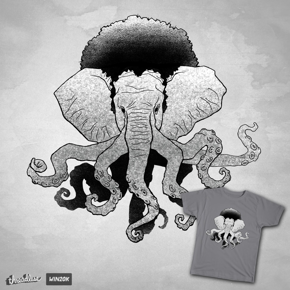 Elefunktopus! by Ohco on Threadless