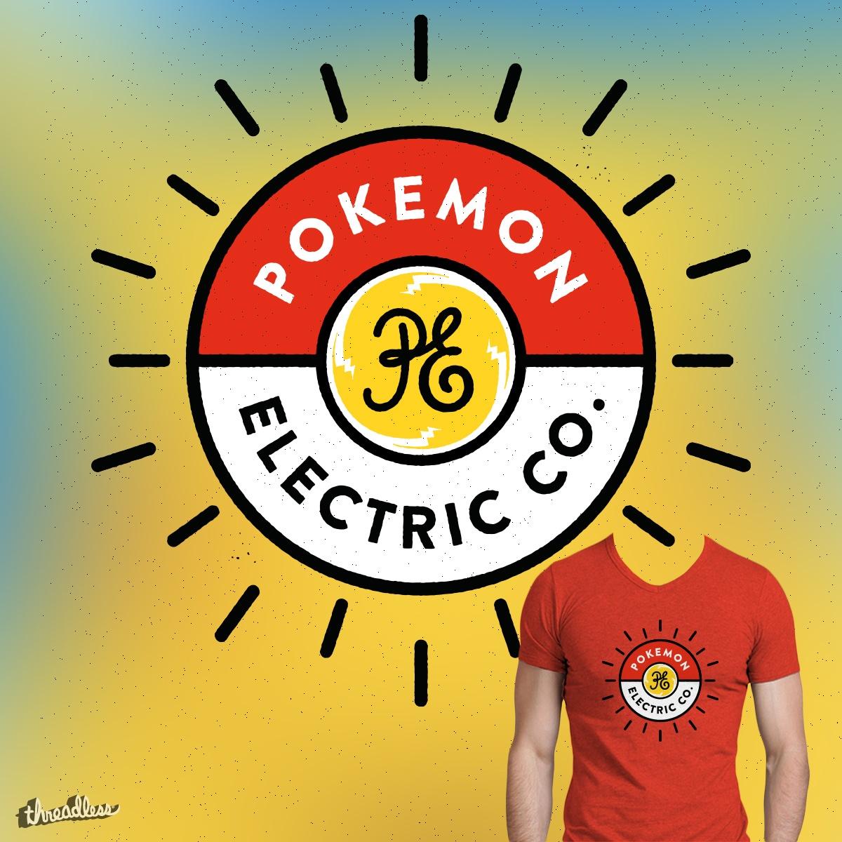 Pokemonn Electric Company by tugrulpeker on Threadless