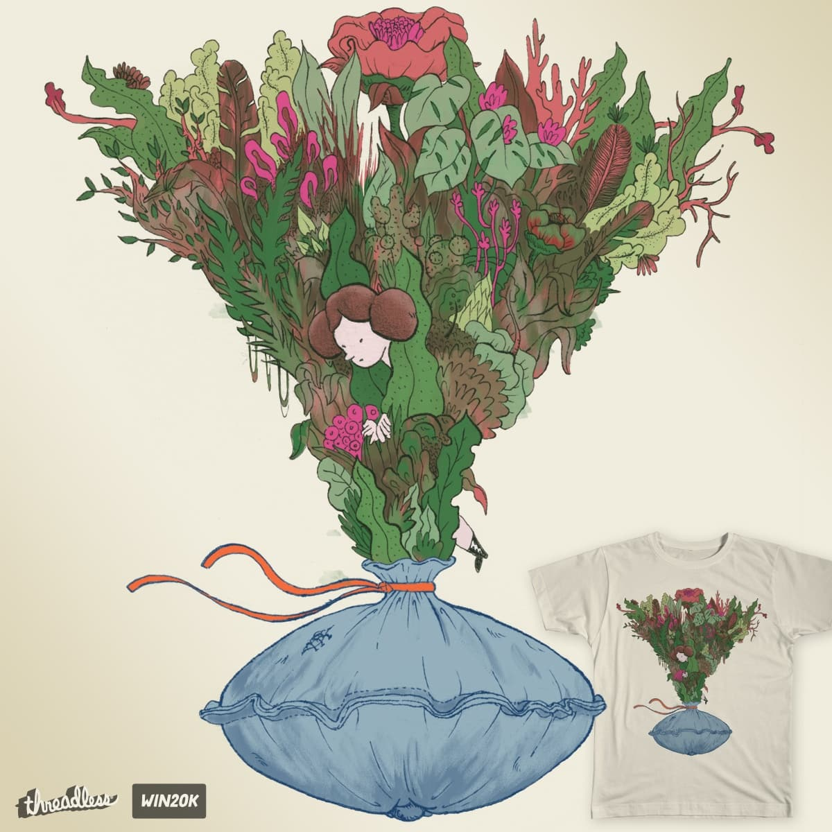 Shuttle Forest by chastinet on Threadless