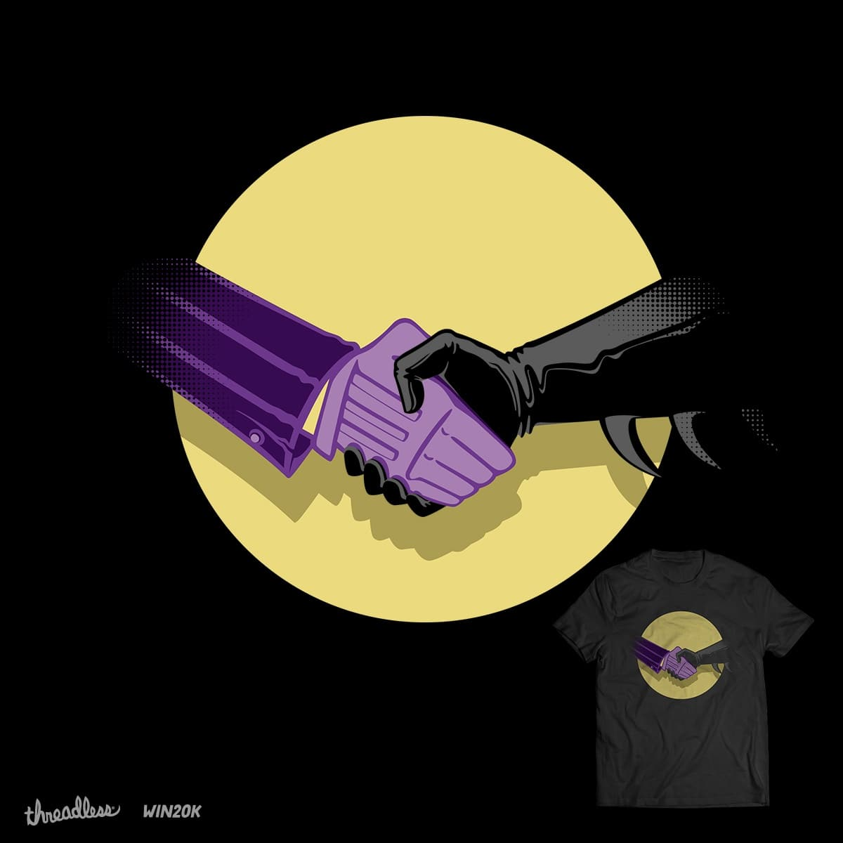 A truce for peace by taelg on Threadless