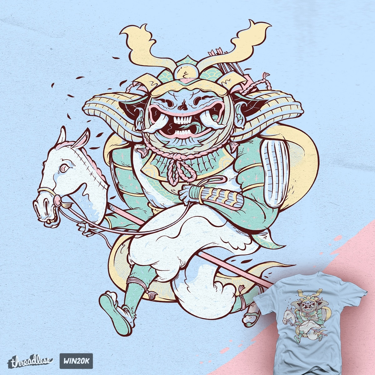 Samurai Hack by citizen rifferson on Threadless