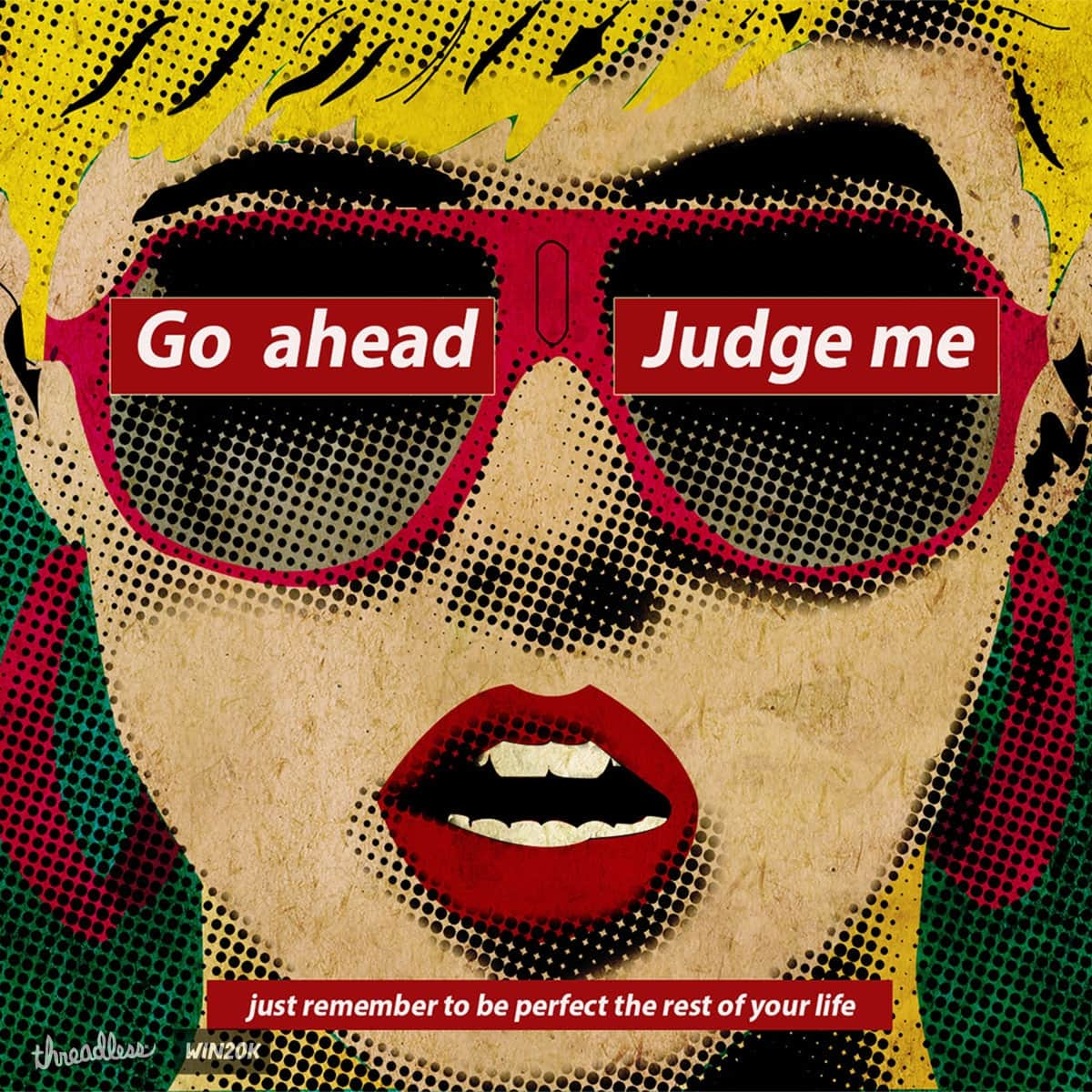 Miss Judged by thanderous on Threadless