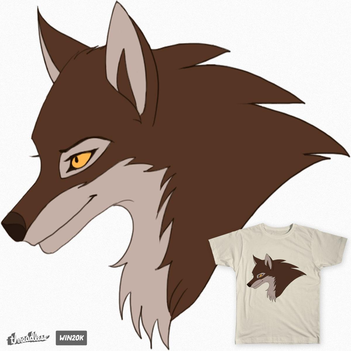 wolf t-shirt by astawolf on Threadless