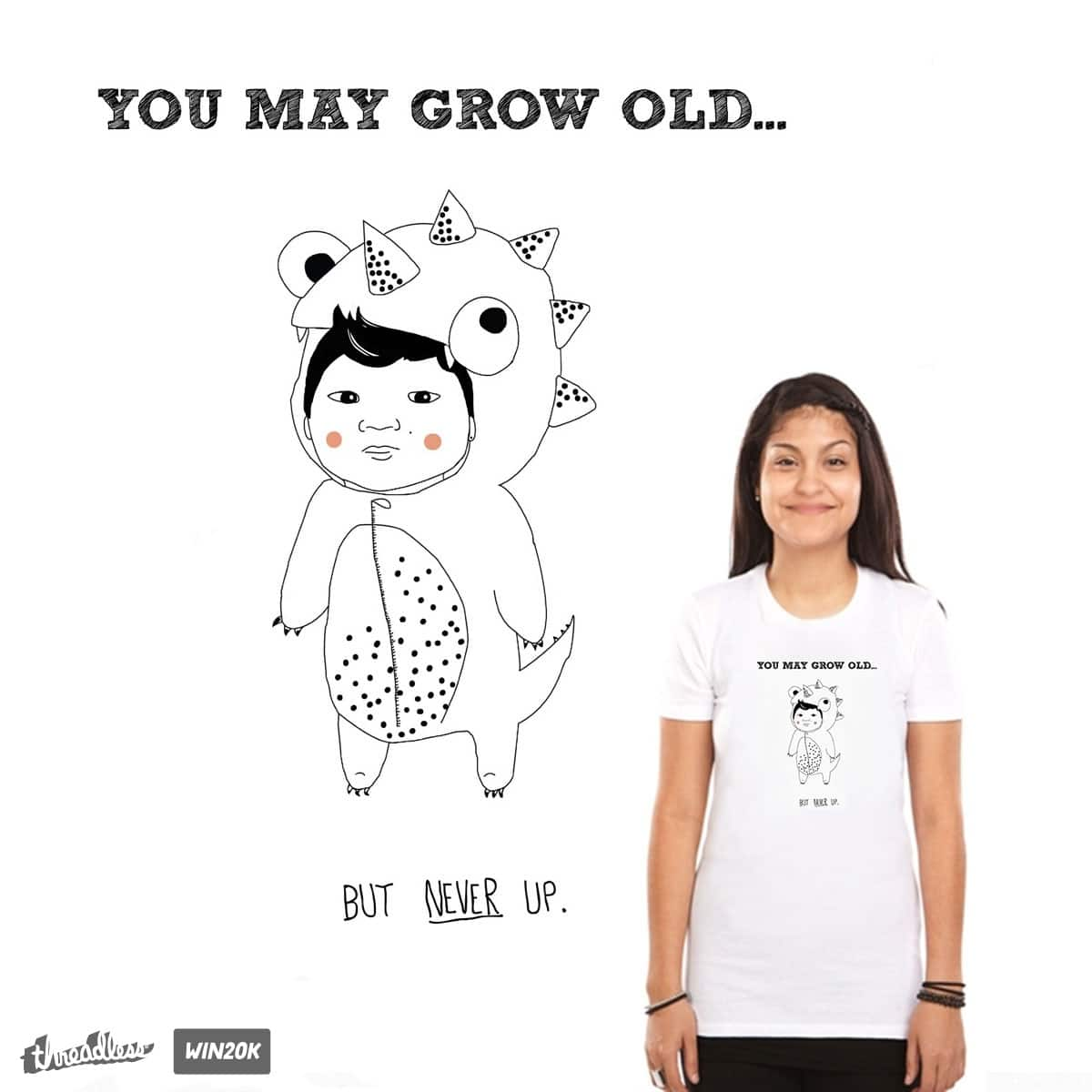 Don't grow up. (Just don't.) by Maronika on Threadless