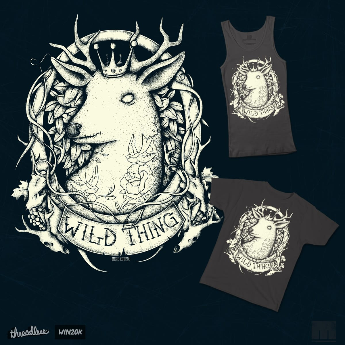 Wild Thing by mikekoubou on Threadless
