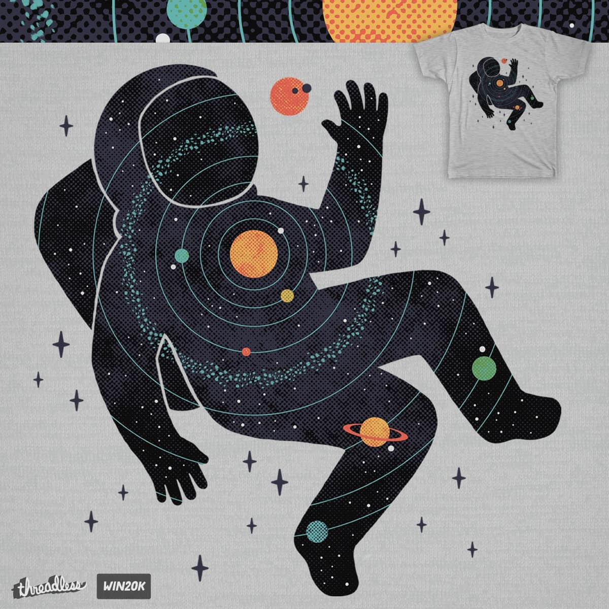 Inner Space by ThePaperCrane and lordofmasks on Threadless