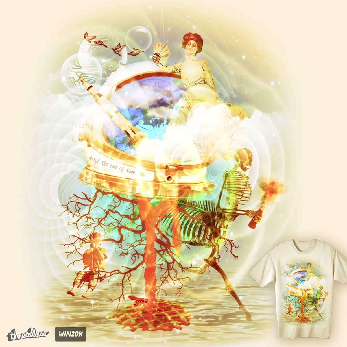 Until the End of Time by ArTrOcItY on Threadless