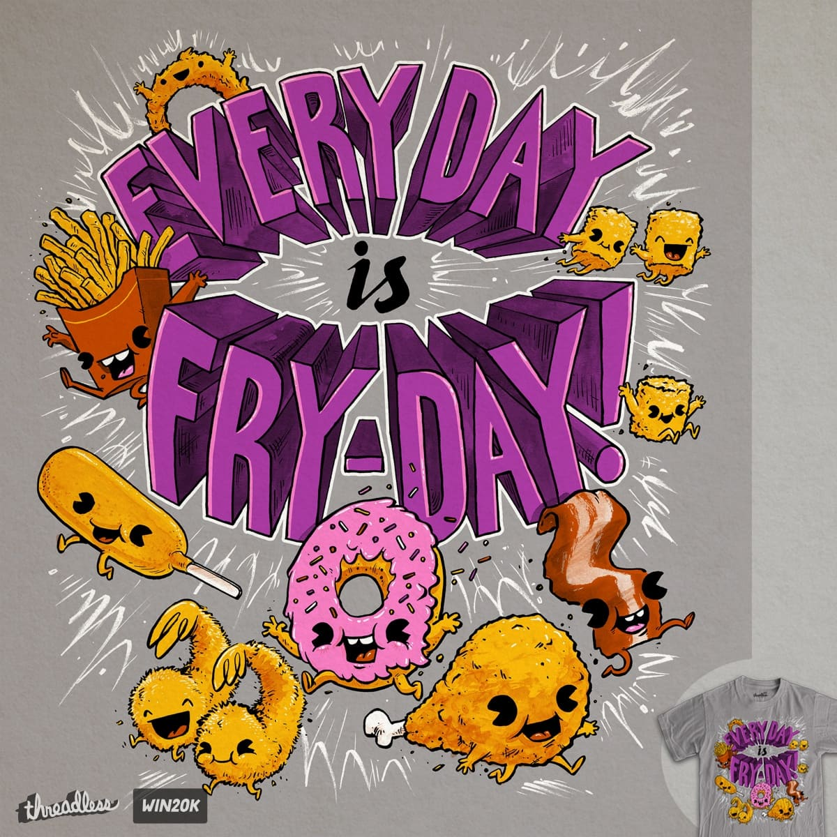 It's Fryday! by briancook on Threadless