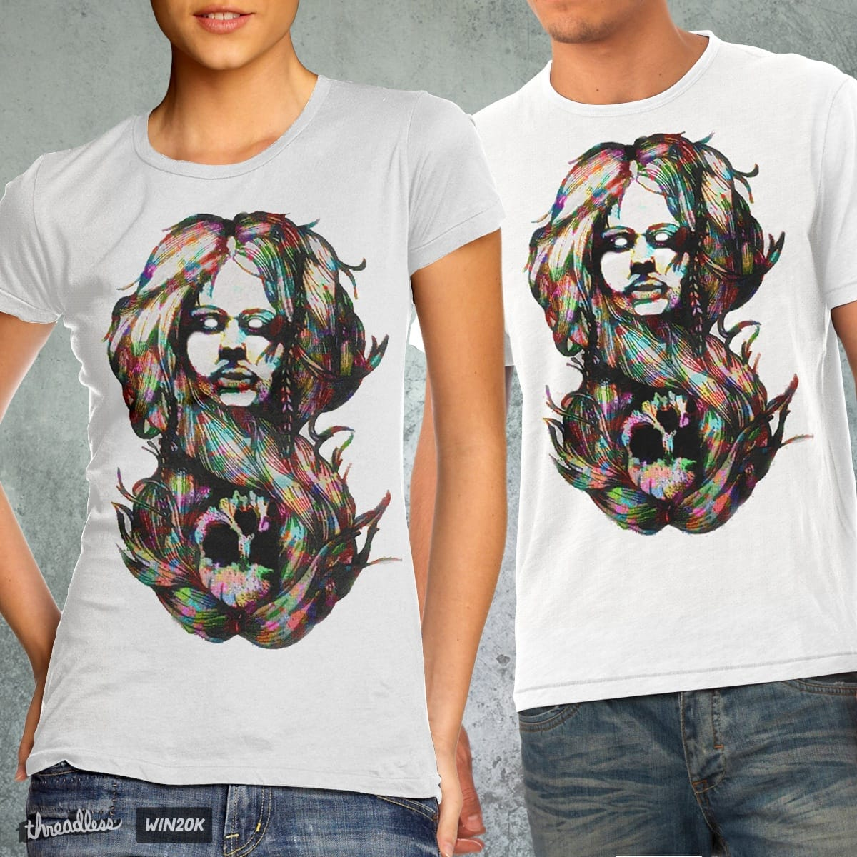 The Girl Next Door - 2nd Face by milios.thanasis on Threadless