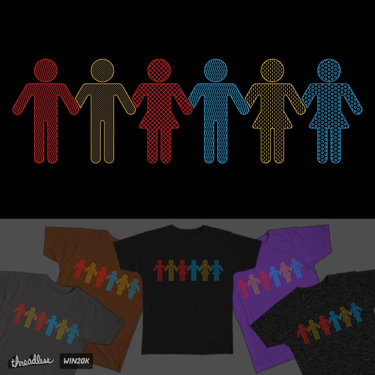 HumaniTee by totemic on Threadless