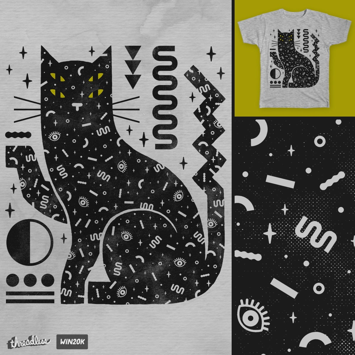 Magic Cat by lordofmasks on Threadless