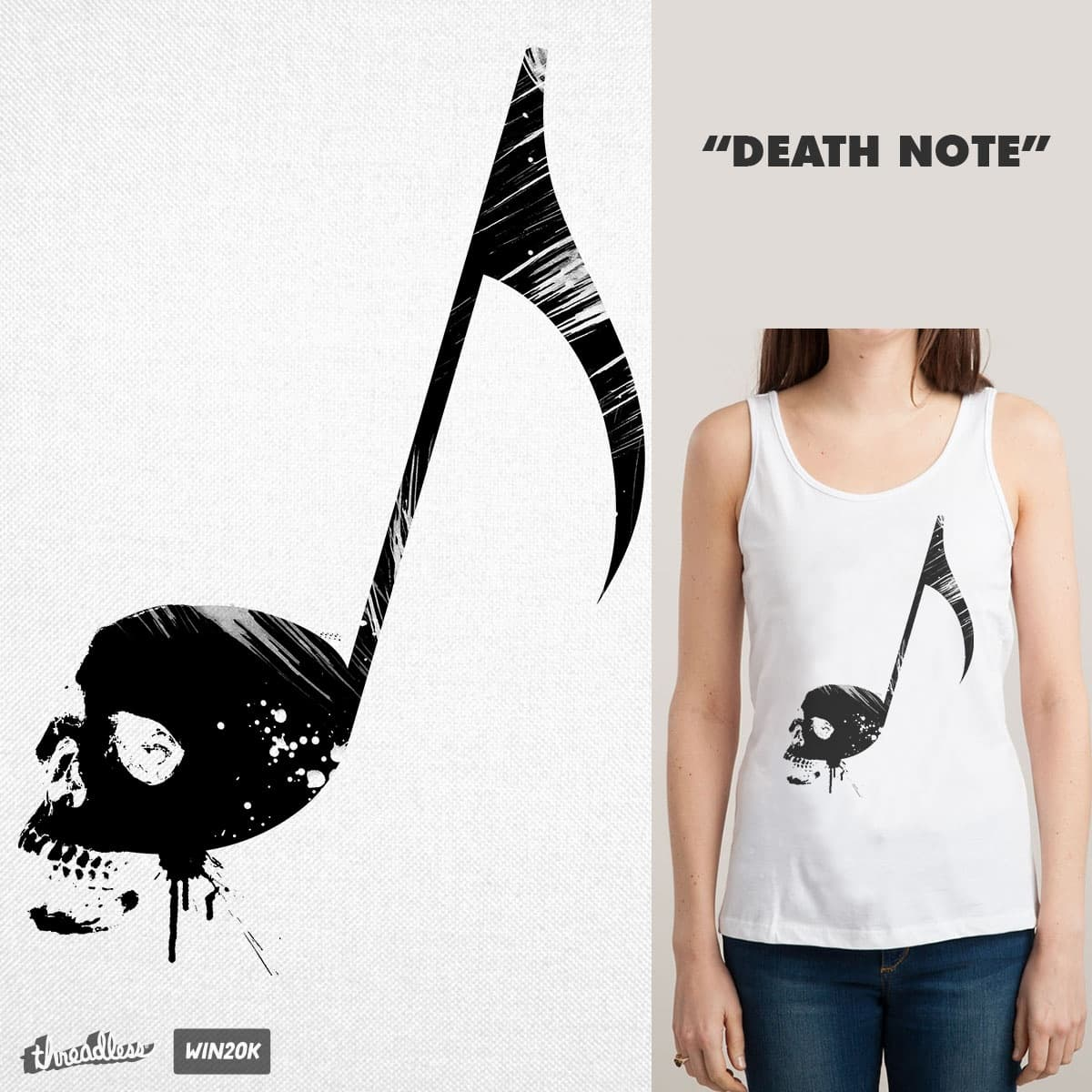 Death Note by Agimat ni Ingkong on Threadless