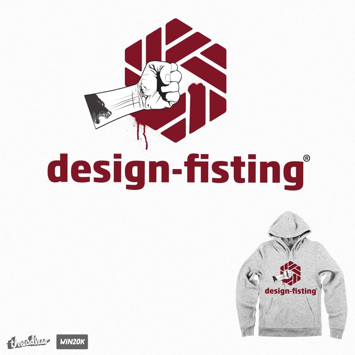 design fisting one by ellegun on Threadless